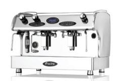 Maquina de café Fracino Romano eléctrica  2 grupos