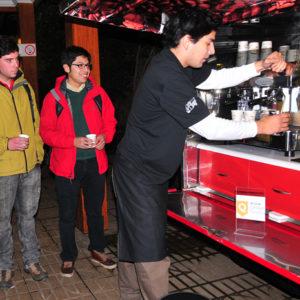 Cliente fracino Toma Café (Osorno)