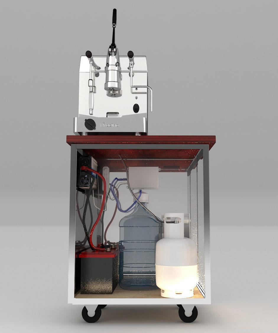funcionamiento maquinas de cafe a gas fracino dual fuel
